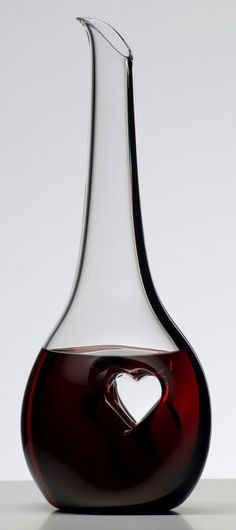 Wine. Love decanters and this one is stunning.