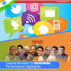 Of all the new mantras that NaMo has been pushing hard, one of them is certainly to reach out to the public at large through a strong social media presence. Some interesting observations on the social media activity of our present cabinet ministers