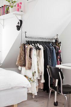 cute storage idea for room