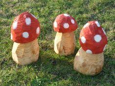 toadstools wood Foxella & Friends