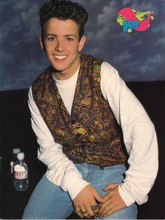♥ New Kids On The Block ~ Joey ♥  I had this poster on my wall!!!