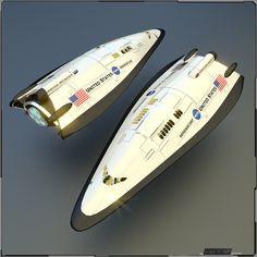Shuttle XS - 01 by PINARCI via deviantART