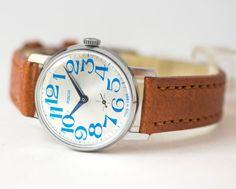 Modern men's watch PobedaVictory mint condition by SovietEra