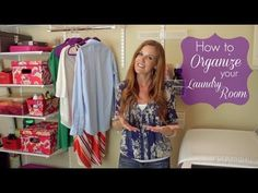 ▶ Organize Your Laundry Room With Style - YouTube