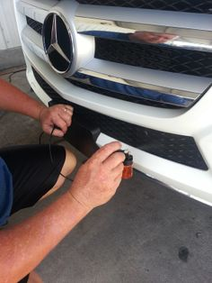 Using Black Wow Pro with an airbrush to get those hard to reach areas.  www.protektautodetailing.com