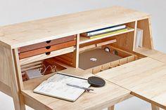 дневник дизайнера: Sixtematic Belle - таинственный письменный стол для девушки!