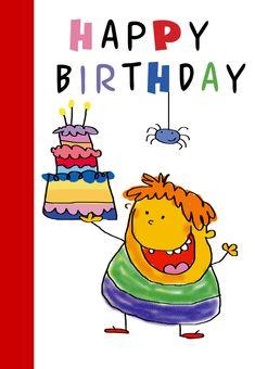 Kid Birthday E Cards New Happy Birthday Kid Birthday Card Free Birthday Cards Images, Cool Birthday Cards, Happy Birthday Greeting Card, Art Birthday, Birthday Wishes For Wife, Happy Birthday Kids, Preschool Birthday, Free Printable Birthday Cards, Printable Birthday Invitations