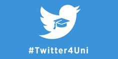 #Twitter entra in università. Prende il via da oggi #Twitter4Uni, la sfida universitaria per aggiudicarsi uno stage in Twitter Italia