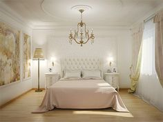 Bedroom design in classical style-9