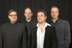 The Horst:Das münsterische Quartett mit Gitarrist Matthias van Wüllen, Bassist Jürgen Diehle, Sänger Huck L. Burger und Schlagzeuger Bernward Tuchmann (v.l.).