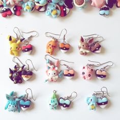Earrings Pokemon choose your model!