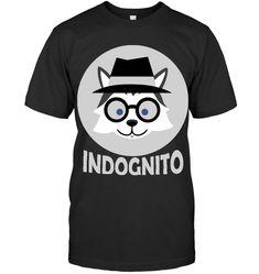 Husky Indognito T Shirt Husky Guy, Mens Tops, T Shirt, Supreme T Shirt, Tee Shirt, Tee