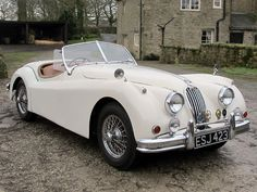 1956 Jaguar XK140 Roadster Special Equipment Auction - Classic Car Auctions & Sale - H