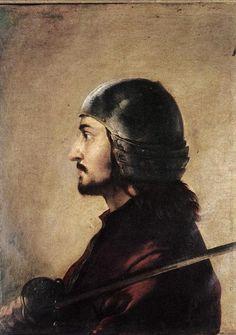 Warrior by Salvator Rosa
