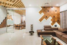 Matruchaya – Pavan Infratech Living Room Panelling, Living Hall, Bedroom Interior, Bedroom Design, Hall Interior, Living Room Design Modern, Drawing Room Design, Living Room Designs, Drawing Room Wall Design