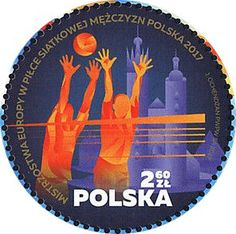 Volleyball, Around The Worlds, Stamps, Poland, Europe, Seals, Stamping, Volleyball Sayings, Postage Stamps
