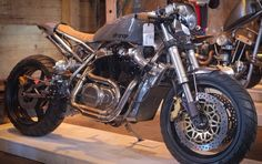 #Honda #vt500 #cafe #racer #strange coast moto