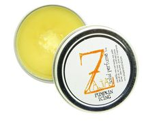Pumpkin Icing Solid Perfume by ZAJA Natural - 1 oz >>> Don't get left behind, see this great  product : Travel Perfume and fragrance