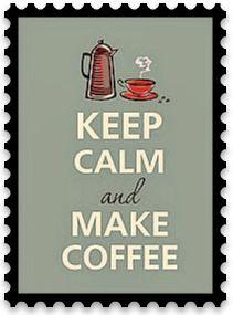 Nothing like  coffee...