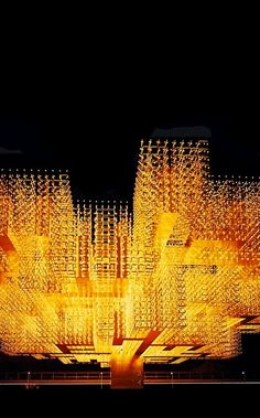 "Willy Walter | ""Radiant Structure"" / Swiss Pavilion - Expo 70, Osaka."