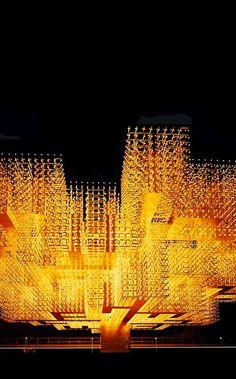 "Willy Walter   ""Radiant Structure"" / Swiss Pavilion - Expo 70, Osaka."