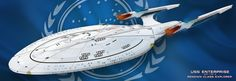 USS Enterprise NCC 1701 G by HandofManos.deviantart.com on @deviantART