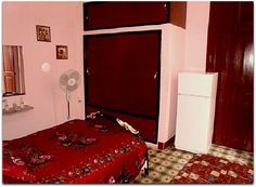Casa Colonial Dalia y Teresa Colonial, Havana, Bed, Furniture, Home Decor, Houses, Decoration Home, Stream Bed, Room Decor