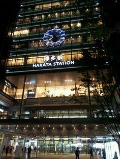 博多站夜景