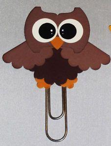 owl paper clip