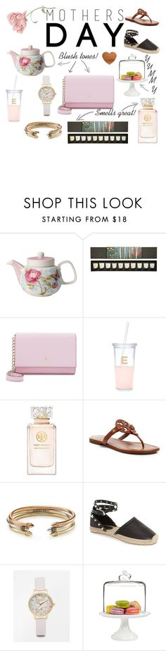 """""""Mothers Day Gift Guide"""" by jessicalynnawesley on Polyvore featuring Villeroy & Boch, Diptyque, Kate Spade, Tory Burch, Kendra Scott, Rebecca Minkoff, Olivia Burton and Martha Stewart"""