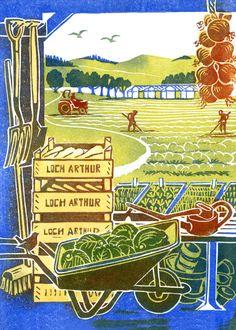 Clare Melinsky | Illustrator | Central Illustration Agency #illustration #print #printmaking #linocut Illustration, Clare, Linocut, Painting, Art, Lich, Garden Art, Prints, Illustration Print