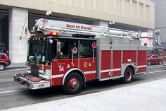 Chicago Fire Department. Squad 1A