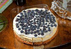 Cheese cake con frutta secca... bella idea!