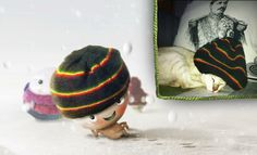 King Karl Stitch from Bali, Indonesia is chilling in the snow and brings some warm sunshine to the Little Stitches world!