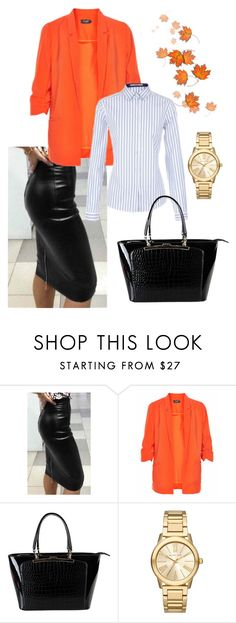 """""""WINTER OUTFITS ON THE STREET"""" by vera-brites on Polyvore featuring Soaked in Luxury, Etro, Diophy and Michael Kors"""
