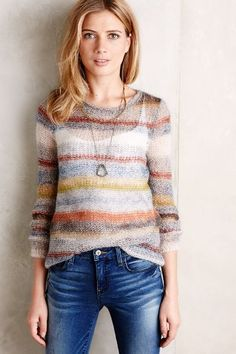 The perfect sweater weight.  Light but warm. Raya Pullover by Moth at Anthropologie | Pretty Little Liars