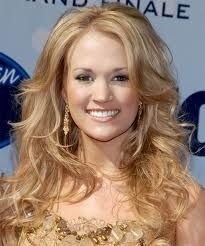 Carrie Underwood, our very own Idol star turn major country diva, is talking hair! Carrie Underwood tells People Magazine that she loves her hair big and Wavy Hair Men, Long Curly Hair, Big Hair, Hair Styles 2014, Medium Hair Styles, Curly Hair Styles, Carrie Underwood, Photomontage, Styling Gel