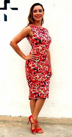 Tango robe Mimosa basse réversible dos fente par TangoWithLove