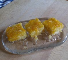 Lemon Brownies,interesting. Gotta try it