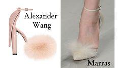 alexander wang fluffy shoes,alexander wang fall 2011,antonio marras spring 2012 shoes,fluffy shoes 2012 spring