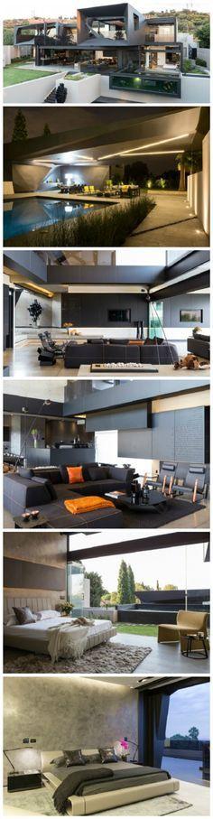 Kloof Road House in Johannesburg by Nico van der Meulen Architects