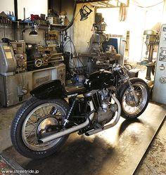 HIDE MOTORCYCLE / ハーレーダビッドソン 1968 XLH