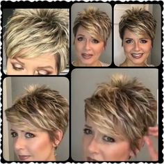 Next best thing hair hacks - Thin Hair Cuts Short Haircut Styles, Cute Short Haircuts, Cute Hairstyles For Short Hair, Curly Hair Styles, Pixie Haircut For Thick Hair, Short Hair Hacks, Crazy Hairstyles, Trendy Haircuts, Dreadlock Hairstyles