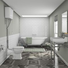 Create A Truly Sensational Traditional Bathroom With Our Beautiful Newbury Suite Loft Family