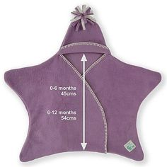 Star Babywrap- attempting making my own pattern for this *Just like Maggie Simpson!