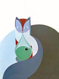 Les Perles de Pluie - Pearls of Rain | t; illustration by Lucienne Fontannaz