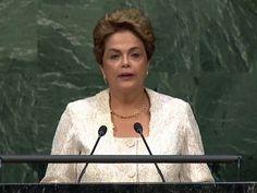 Disso Voce Sabia?: Na ONU, Dilma não fala em golpe, mas pede que brasileiro impeça 'retrocesso' na democracia