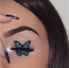 Awesome 36 Super chic and glamorous eye makeup looks like a woman . - Awesome 36 Super chic and glamorous eye makeup looks like a woman … make up - Makeup Eye Looks, Eye Makeup Art, Crazy Makeup, Eyeshadow Makeup, Mac Makeup, Eyeshadow Palette, Maybelline Eyeshadow, Makeup Younique, Glitter Eyeshadow