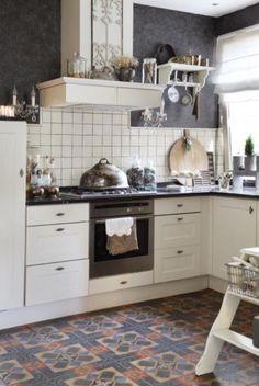 Engelse keuken maatwerkkeuken keuken engelse keukens pinterest - Vintage keukenmeubilair ...