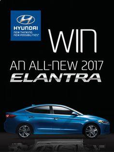 Win a 2017 Hyundai Elantra Limited